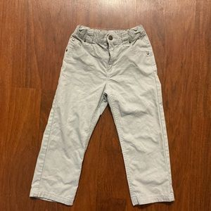 Roots stretch adjustable waist cargo pants 3T